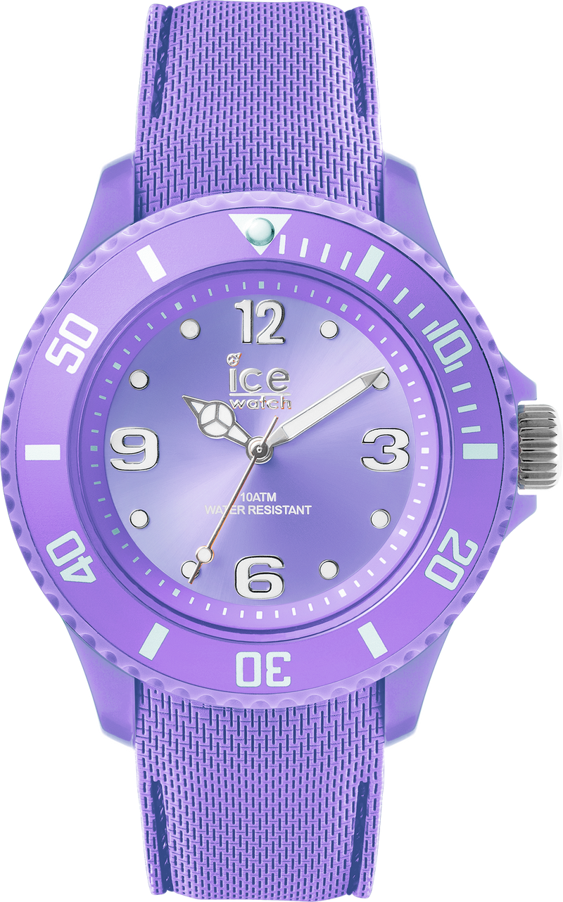 ICE WATCH Sixty Nine Collection Purple Case 34mm (S) Purple Dial Purple Strap