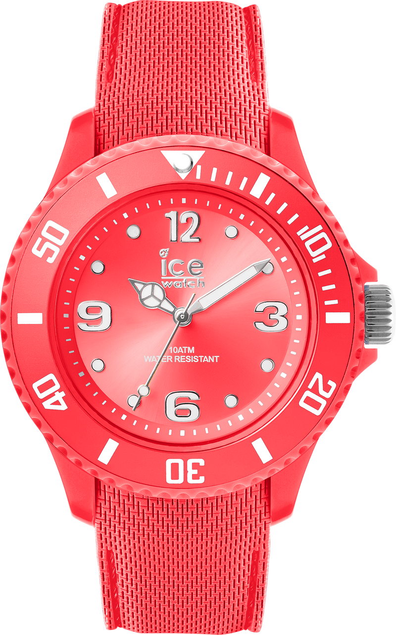 ICE WATCH Sixty Nine Collection Coral Case 34mm (S) Coral Dial Coral Strap
