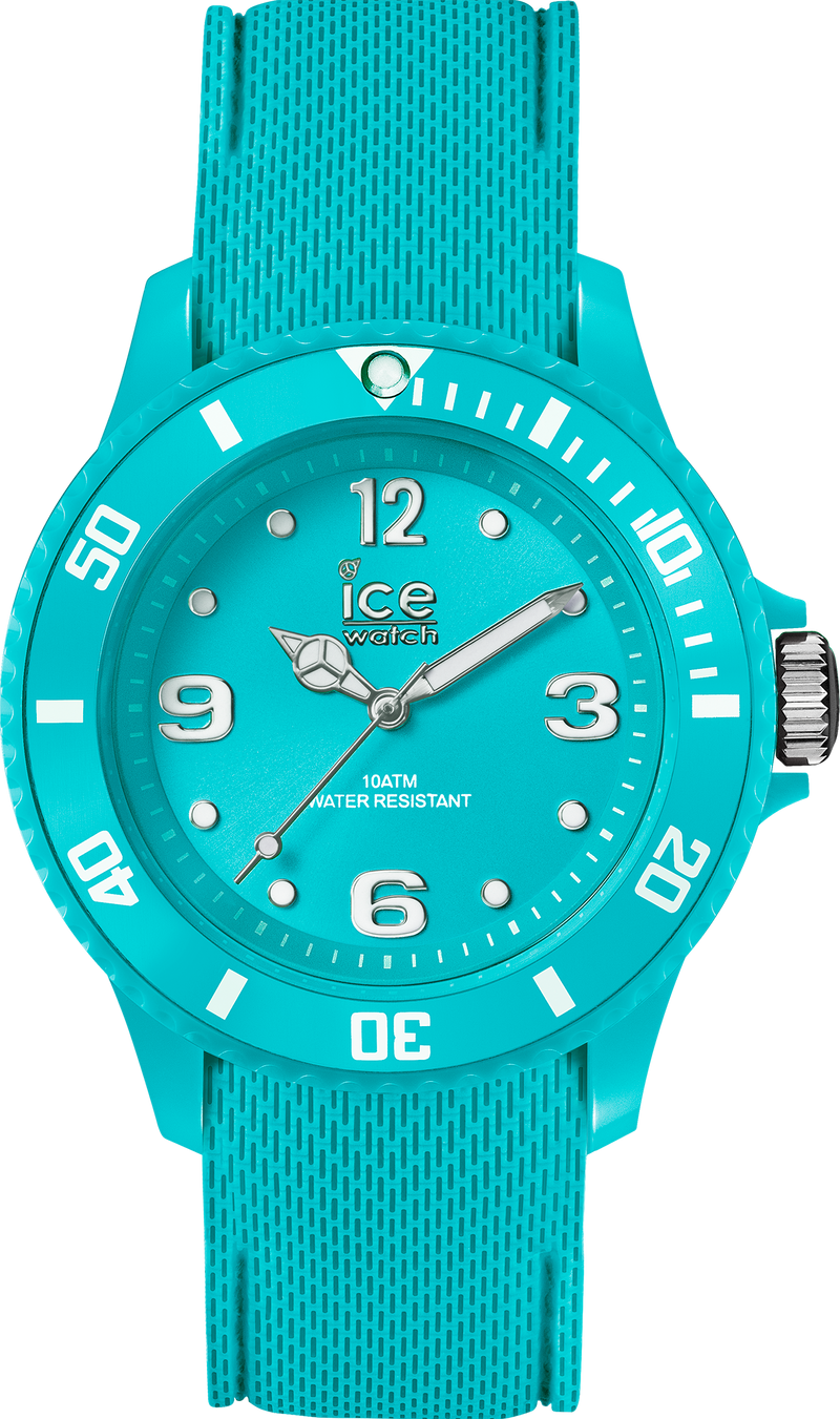 ICE WATCH Sixty Nine Collection Turquoise Case 35mm (S) Turquoise Dial Turquoise Strap