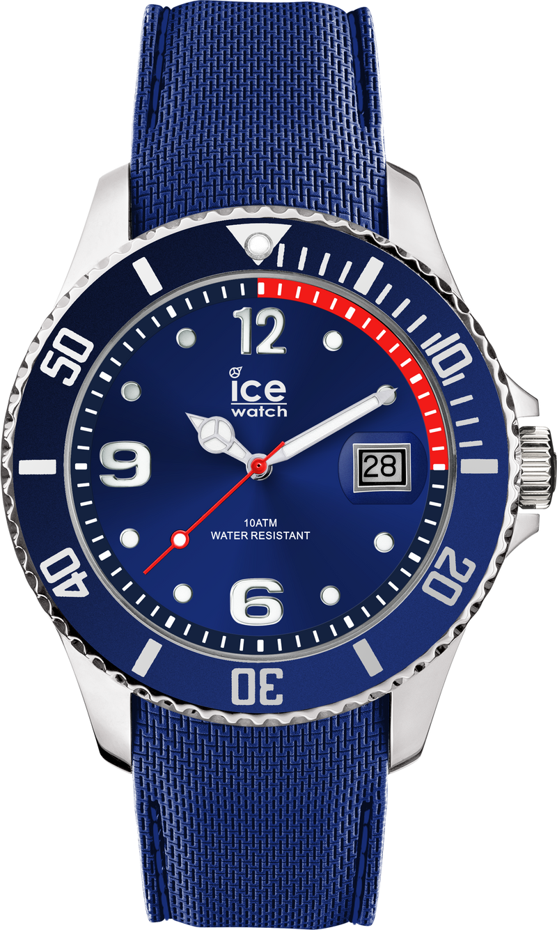 ICE WATCH Steel Collection Blue Case 40mm (M) Blue Dial Blue Strap