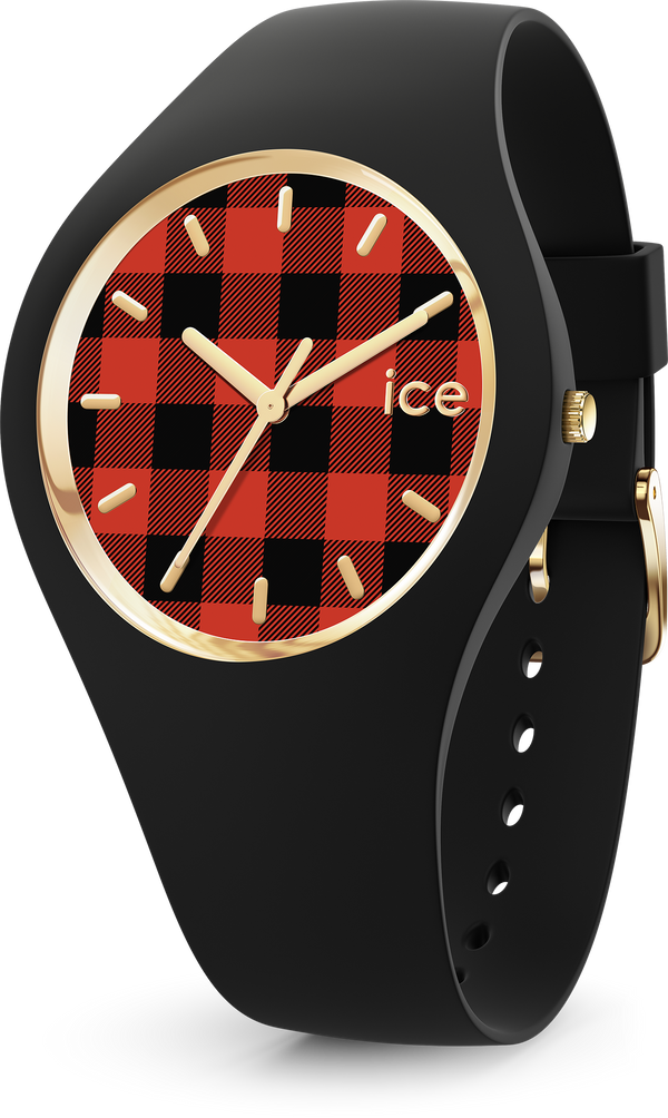 ICE WATCH Check Buffalo Black Small