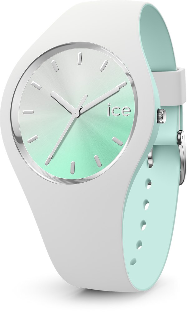ICE WATCH Duo Chic White Aqua Medium 3H
