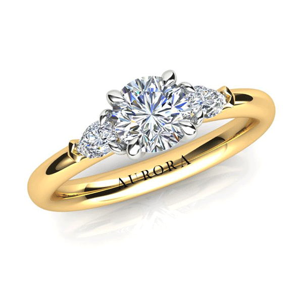 Aurora 18ct Gold G SI1 - 0.85ct TDW Diamond Ring
