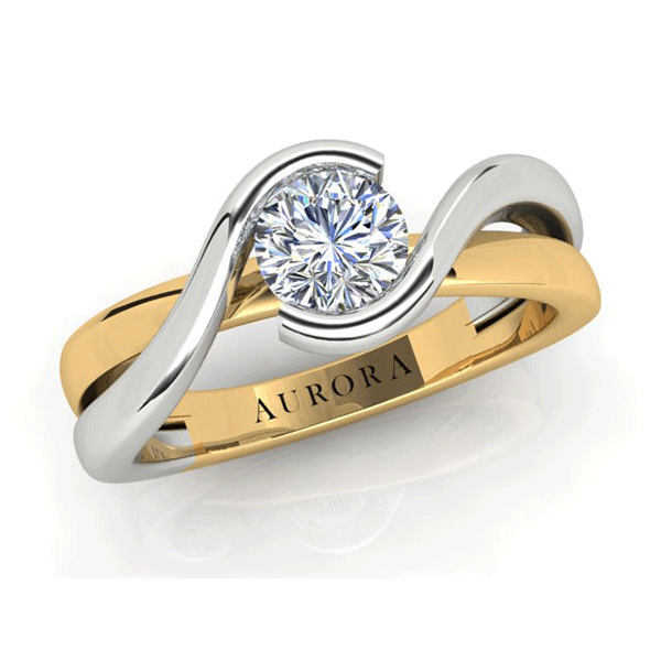 Aurora 18ct Gold G SI - 0.30ct Diamond Solitaire Ring