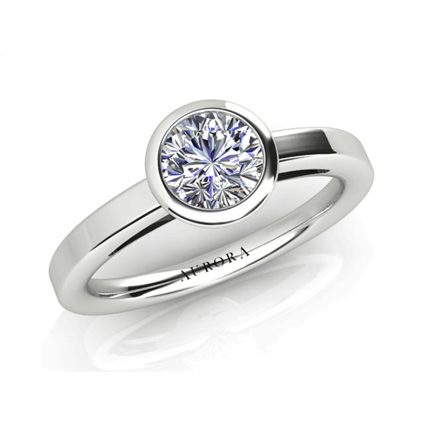 Aurora 18ct Gold G SI1 - 0.70ct Diamond Solitaire Ring