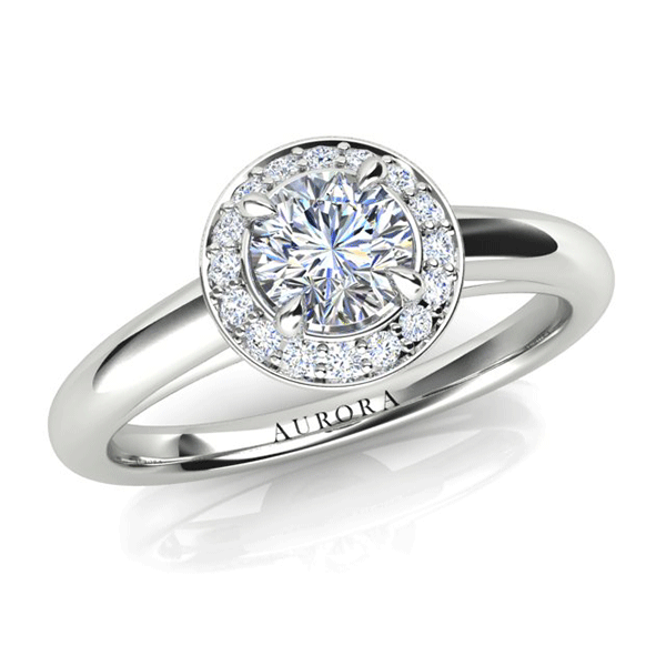 Aurora 18ct Gold G SI1 - 0.75ct TDW Diamond Ring