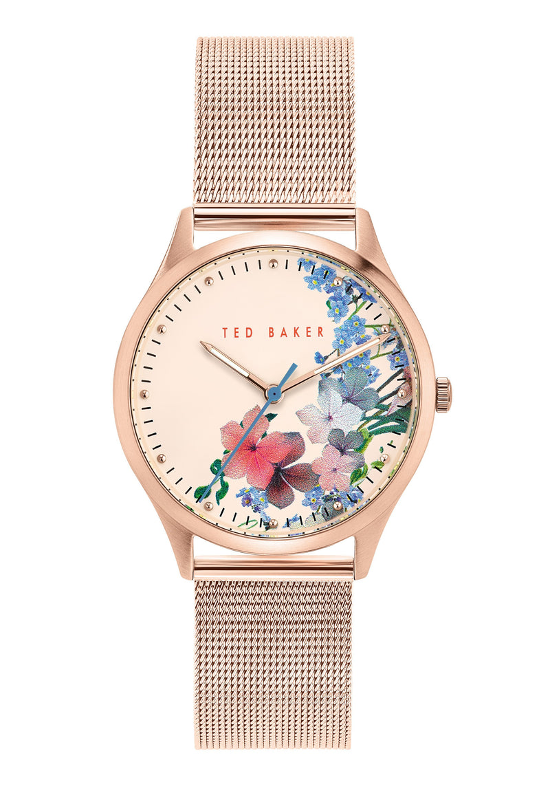 Ted Baker Belzua Floral Print Watch