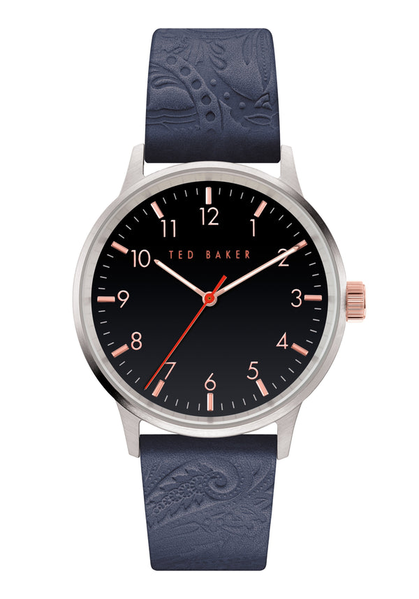 Ted Baker Cosmop Embossed Blue Watch