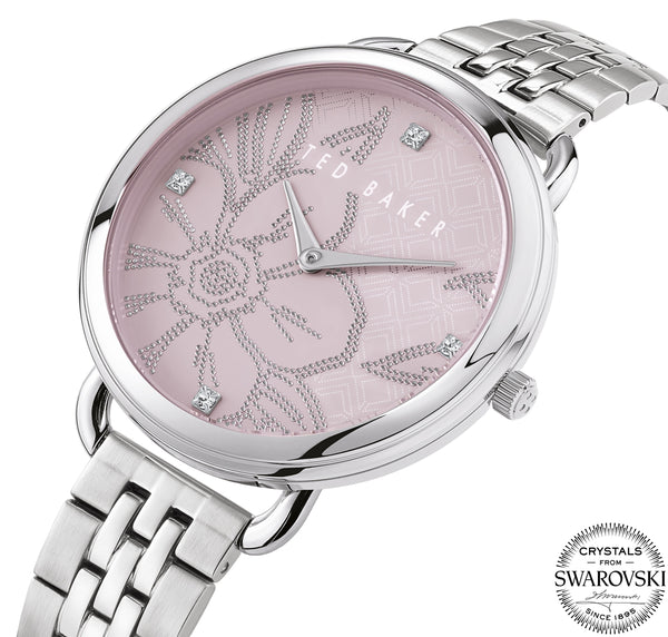 Ted Baker Hettie Silver Bracelet Watch