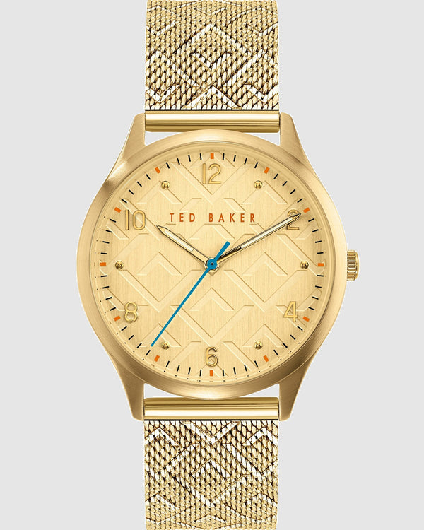 Ted Baker Manhatt Gold Watch