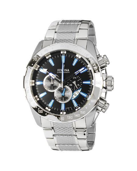 Festina Chrono Sport Silver Watch