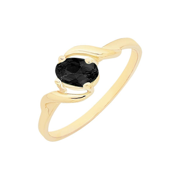 9ct Gold Natural Sapphire Ring