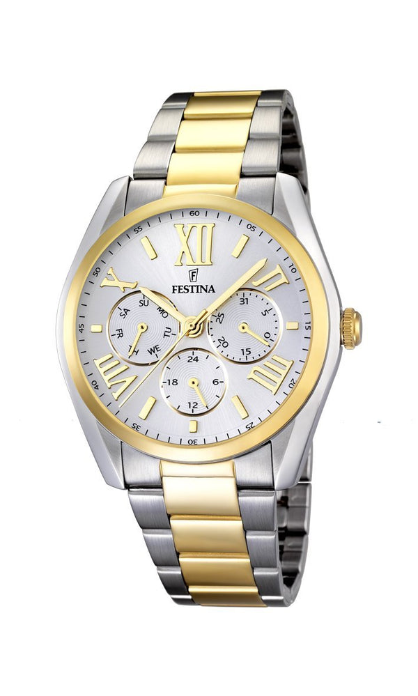 Festina Boyfriend Two Tone Watch