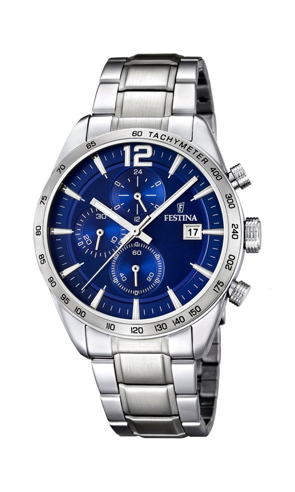 Festina TImeless Chrono Blue Watch