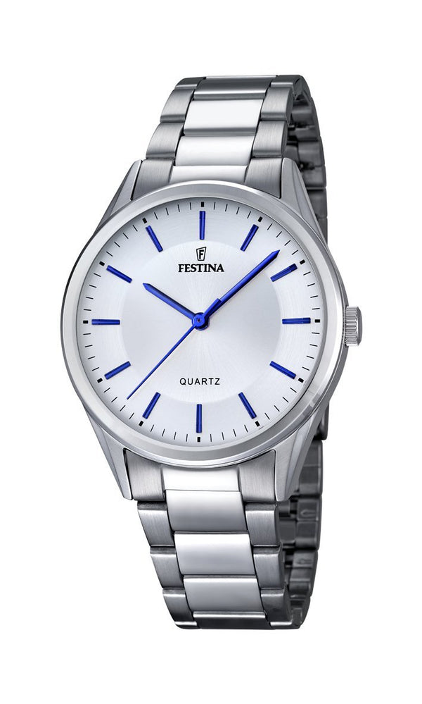 Festina Classic Metal Silver Watch