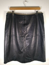 Load image into Gallery viewer, Jasper Conran Leather Skirt Size 14