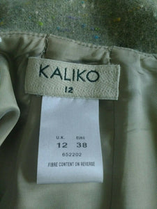 Kaliko Tweed Skirt UK 12