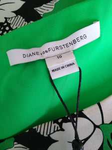 NEW Diane von Furstenberg Dress Size 14