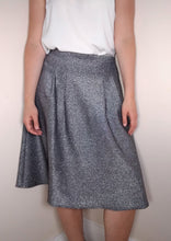 Load image into Gallery viewer, Phase Eight Metallic Skirt Size 12