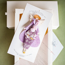 Load image into Gallery viewer, packaging da regalo trasformabile in cornice dell' ANGELO per NOI