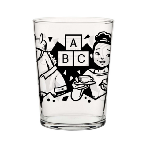 ABC 18oz Tubo Glass