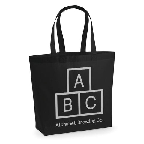 ABC Tote Bag - Black