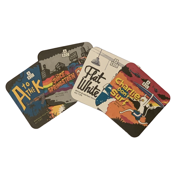 ABC Beer Mat Pack