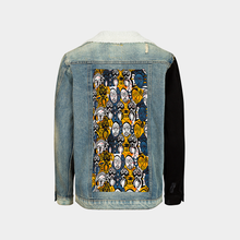 Load image into Gallery viewer, WODAABE DENIM JACKET