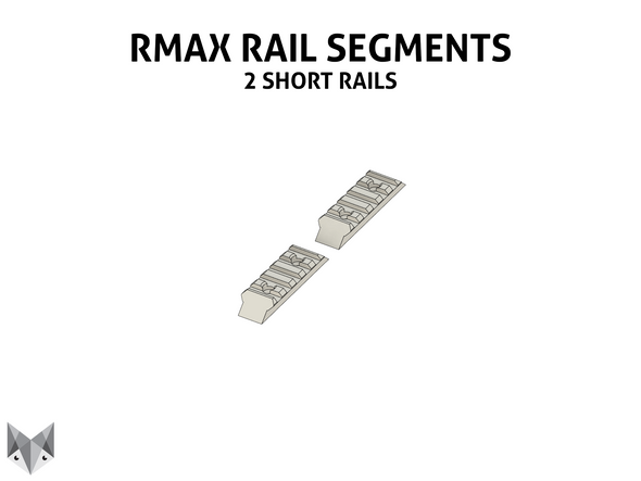 Caliburn - Extra RMAX2 Rail Segments