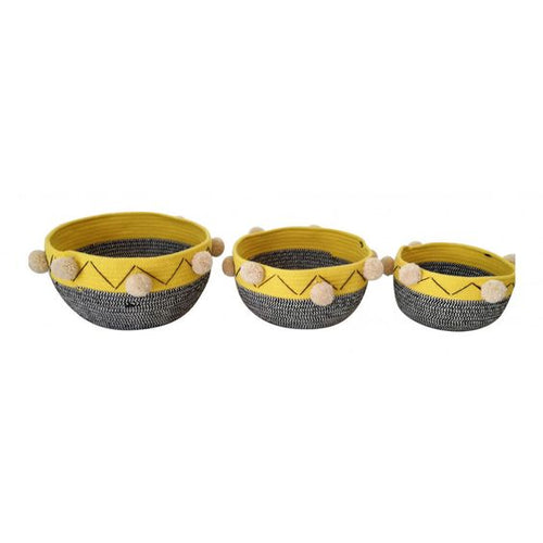 LAGOS BASKETS (SET OF 3)