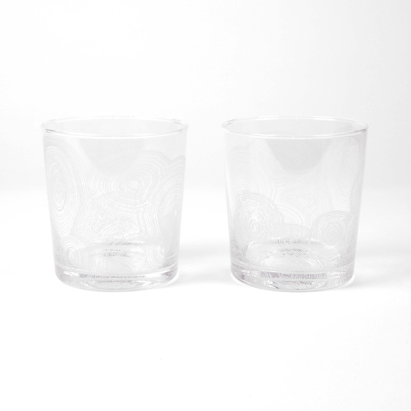 MALACHITE DRINKING GLASSES (SET OF 4)