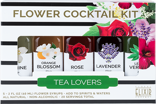 FLOWER COCKTAIL KIT: TEA