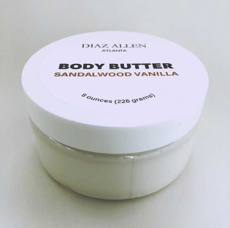DIAZ ALLEN BODY BUTTER (SANDALWOOD VANILLA)