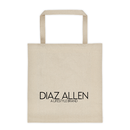 DIAZ ALLEN 'A LIFESTYLE BRAND' TOTE (NATURAL)
