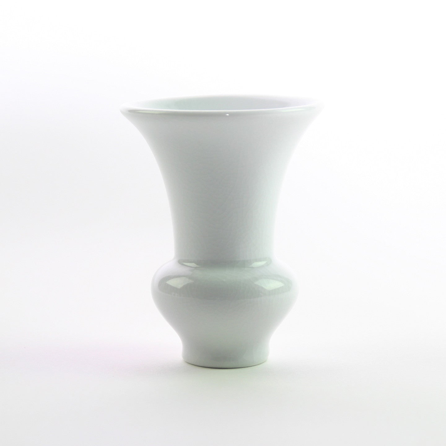 WHITE MINI CHINOISE VASES (SET OF 5)