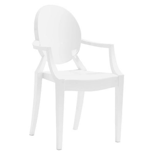 WHITE ANIME CHAIR (SET OF 4)