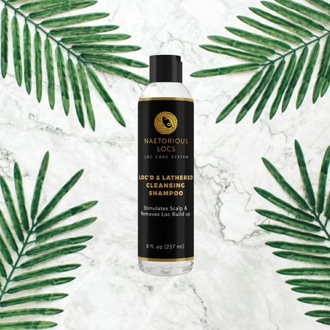 Loc'd & Lathered Cleansing Shampoo