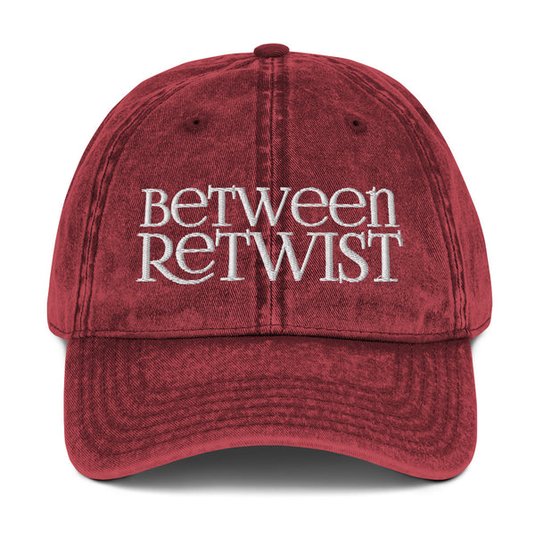 Between Retwist Dad Hat