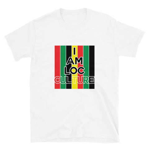 I Am Loc Culture Short-Sleeve Unisex T-Shirt