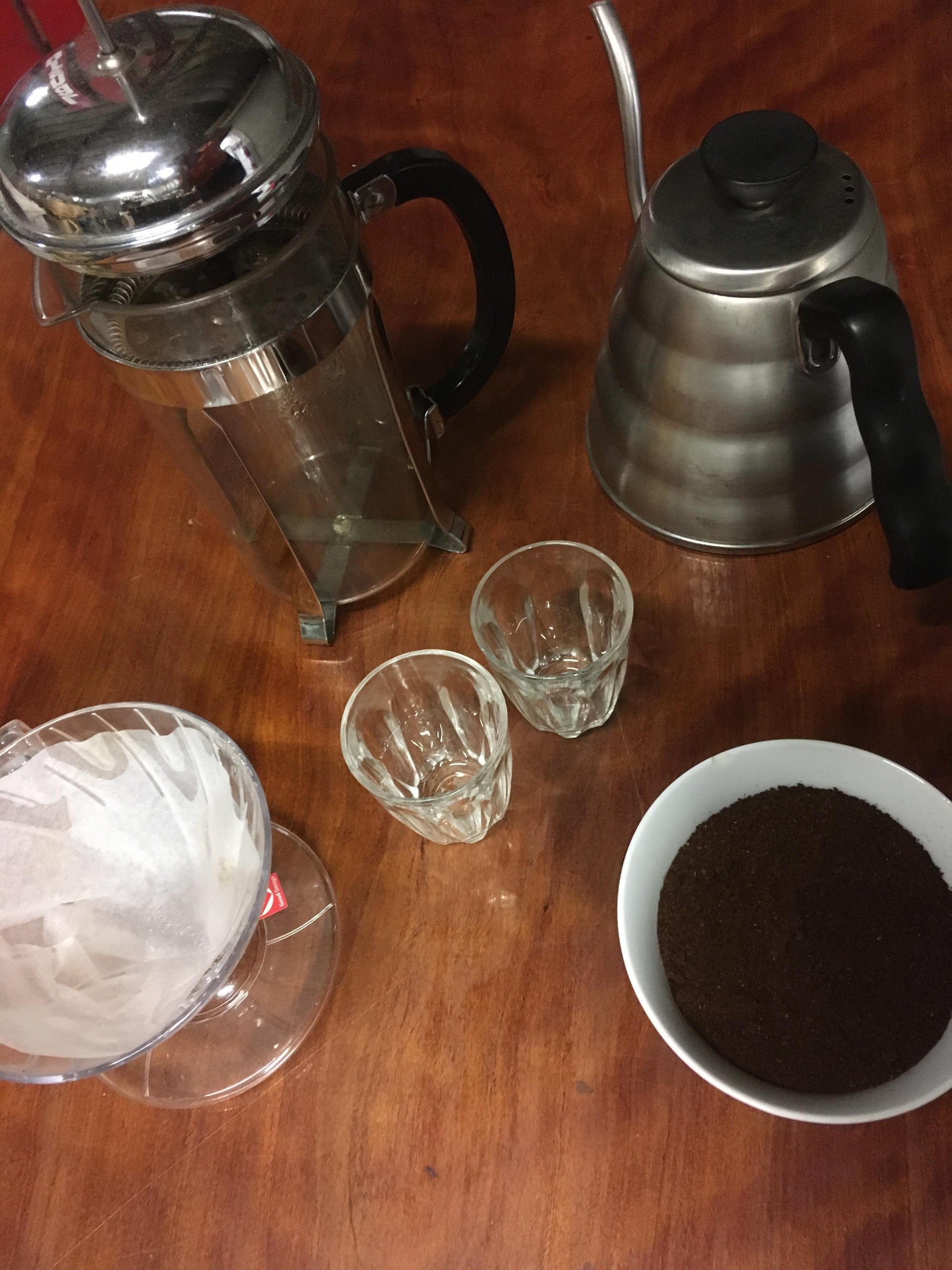 Brewing and Grinding Coffee