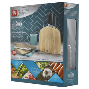 Richardson Sheffield LIFE V Sabatier 5 Piece Knife Block