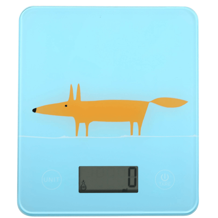 Scion Living Mr Fox Blue Electronic Scales