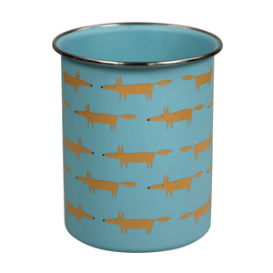 Scion Mr Fox Utensil Jar 1.4L Blue