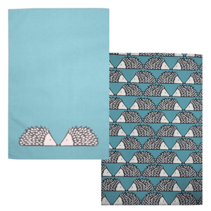 Scion Spike Set of 2 Tea Towels-Teal