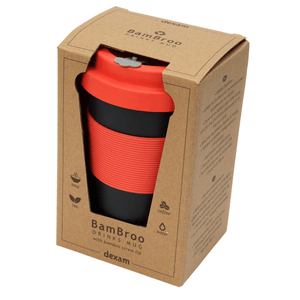BamBroo Reusable Drinks Mug Indigo 400ml