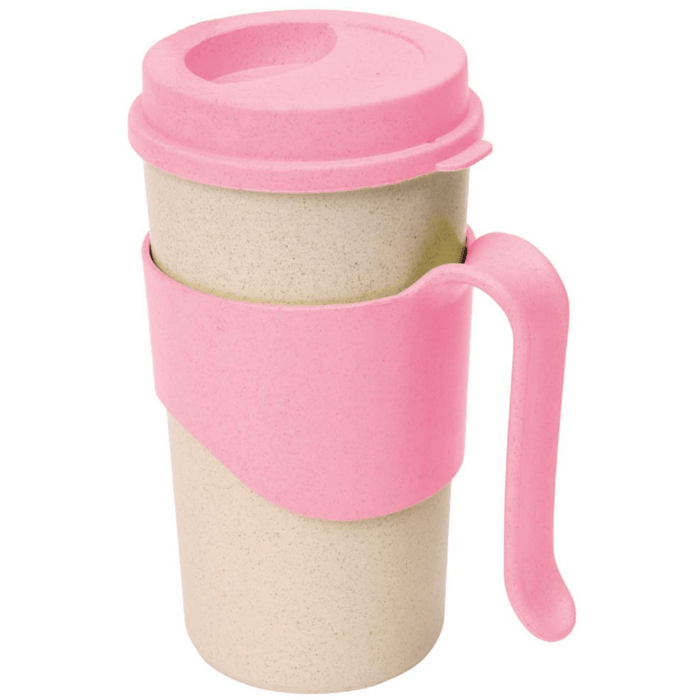Whebroo reusable Drinks Mug Blush Pink 450ml