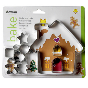 Dexam Gingerbread House Cookie Kit