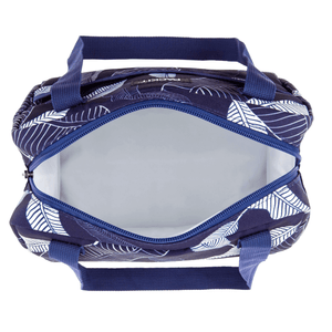 Packit Freezable Hampton Lunch Bag - Navy Leaves