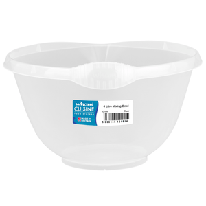 Wham Cuisine 4L Mixing Bowl Clear