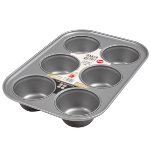 Baker & Salt 6 Cup Jumbo Muffin Tin